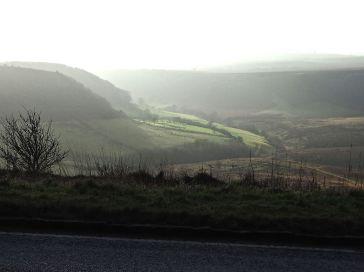 A misty Yorkshire Landscape