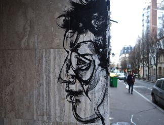 street art paris anonymous