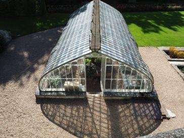 Greenhouse geometry at Villandry.
