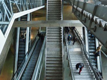 Confusion at Gare Montparnasse - Paris - March 2017