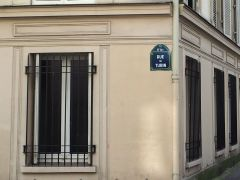 Turin - there's also a rue de Téhéran, a little beyond Europe by anyone's definition