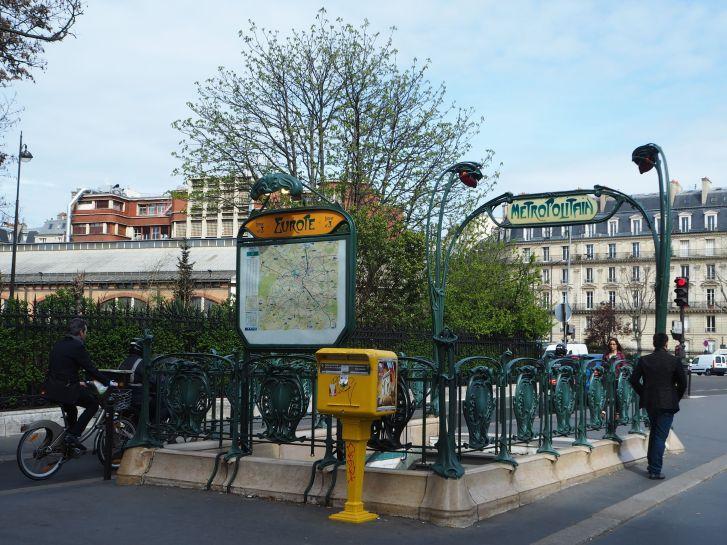 Metro Europe Paris