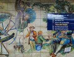 Chemistry, botany and how to find your way out of the station