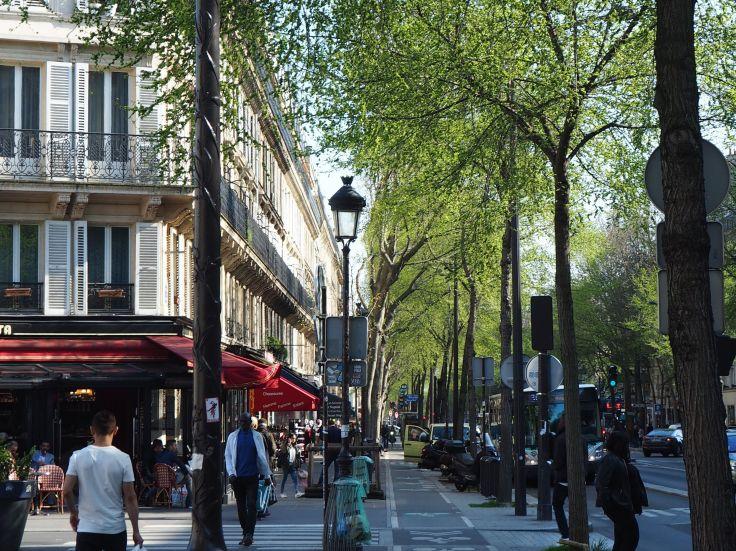 boulevard magenta paris spring