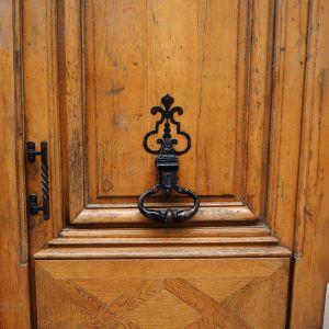 iron door knocker paris