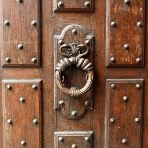snake door knocker paris