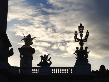 And evening at Pont Alexandre III - February 2017