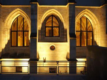 College des Bernardins Paris night
