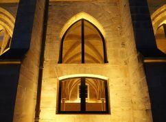 College des Bernardins Paris window