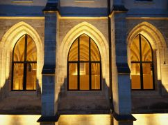 College des Bernardins Paris windows