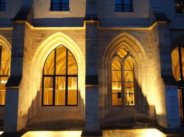 College des Bernardins Paris night view