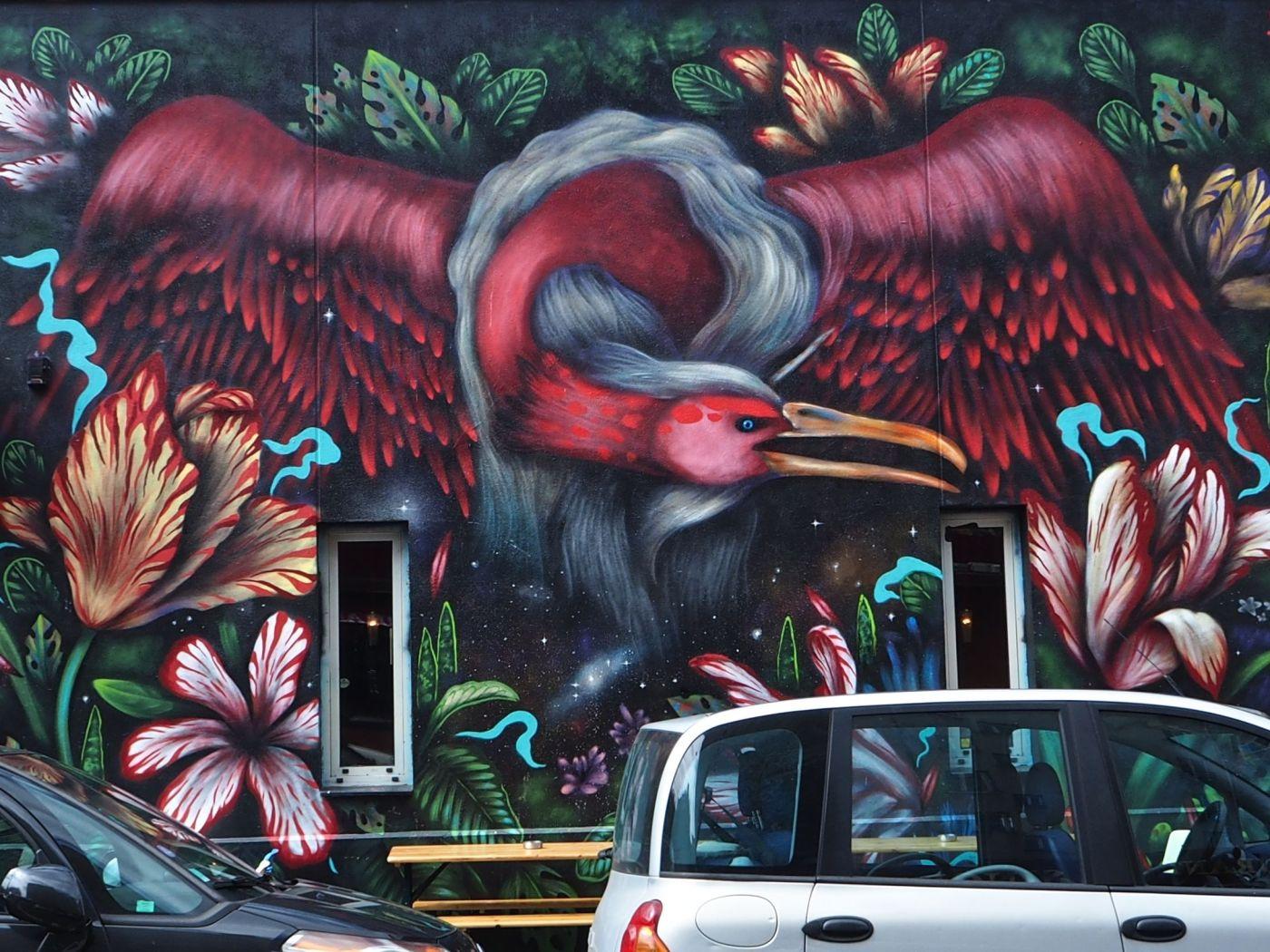 Baillon mural Paris