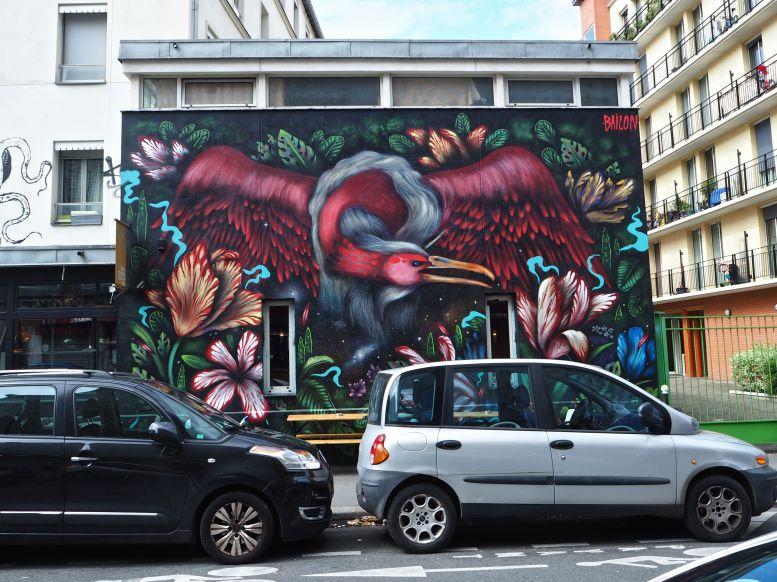 Bailon mural Paris