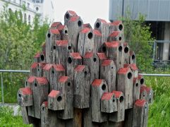 turns out to be a designer 'insect hotel'...