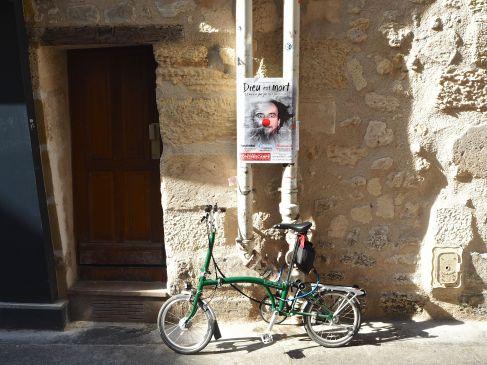 bike poster door paris