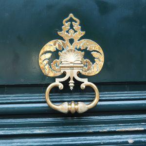 rue grenelle door knocker paris