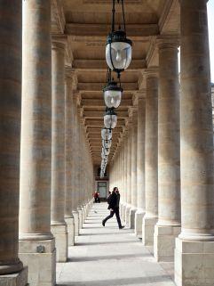 Palais Royal, Paris, March 2017