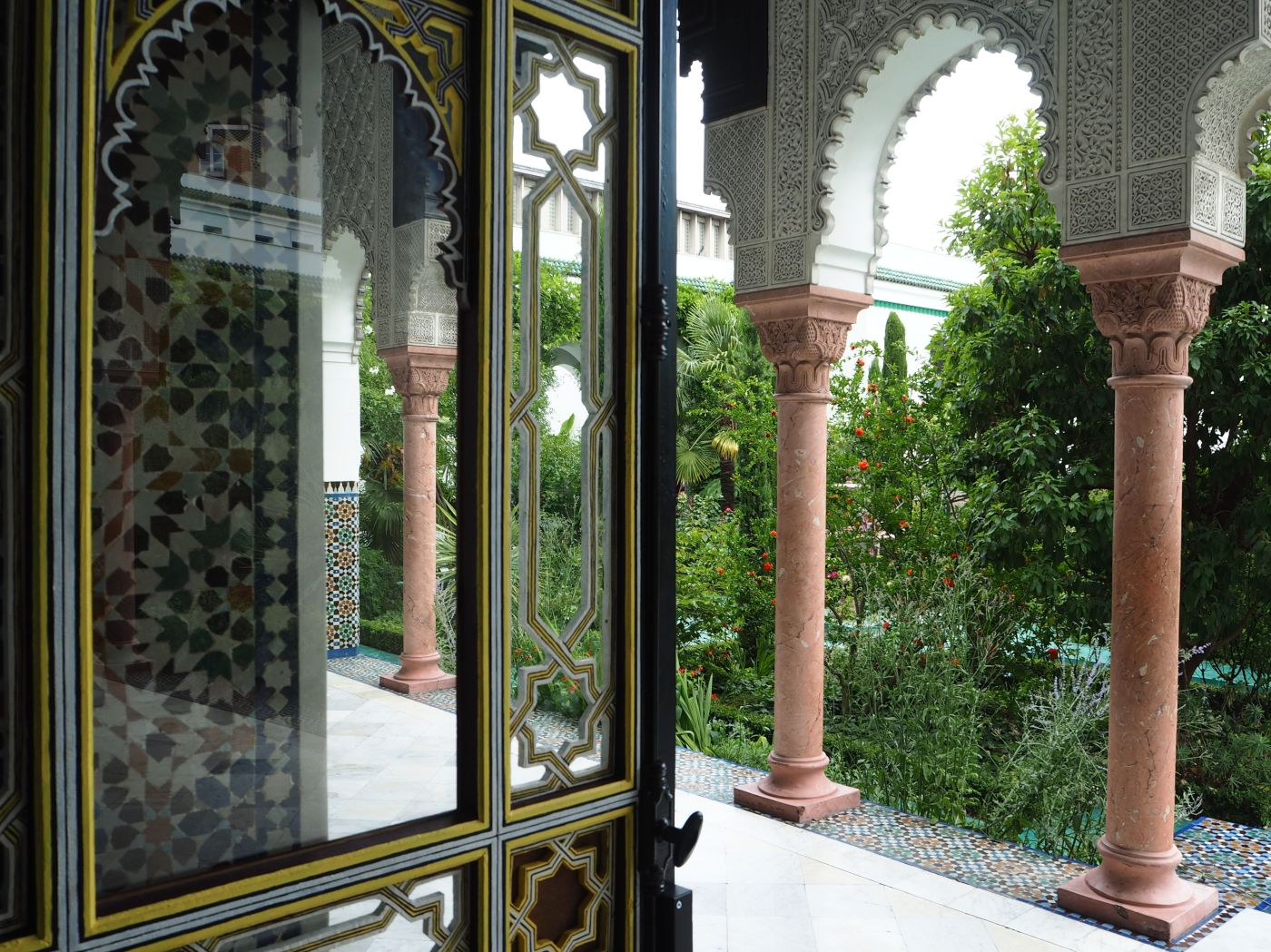 grand mosque de paris cloister
