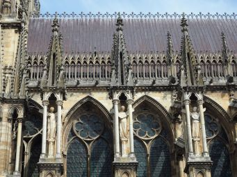 reims cathedral angels