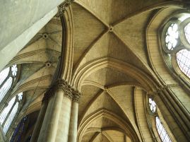 reims cathedral nave vaulting