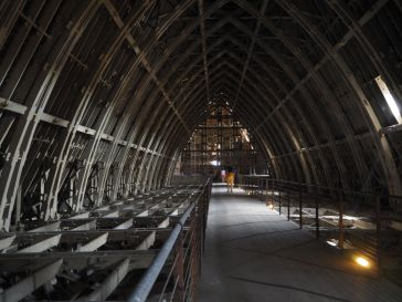 reims cathedral roof space