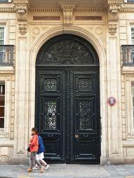 rue de grenelle door paris