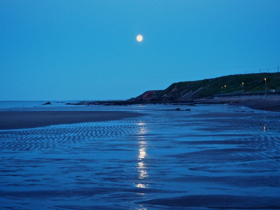 moon path spittal beach
