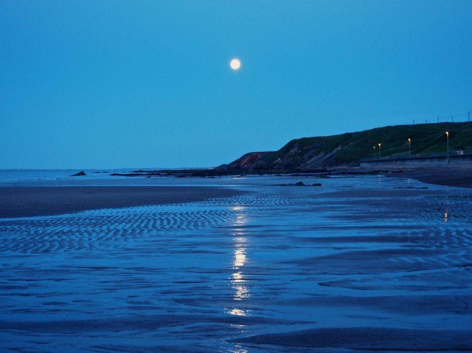 moon path spittal beach