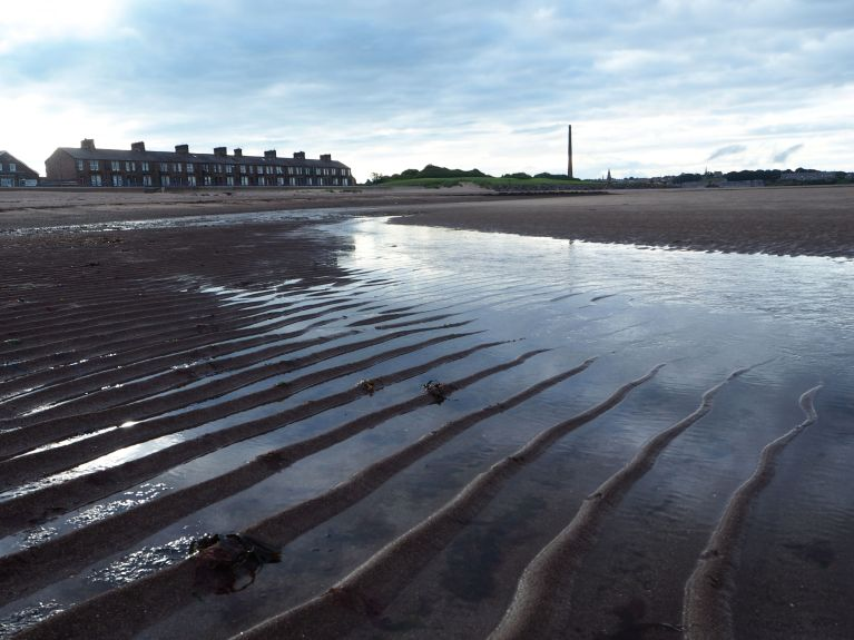low tide evening spittal point