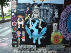 street art Lolie Darko artist ouvrier et al.