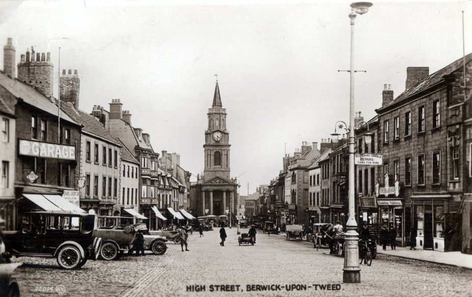 High Street Berwick upon Tweed early 1900s