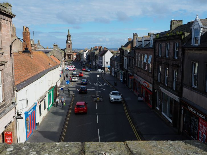 Marygate from the Scots' Gate Berwick