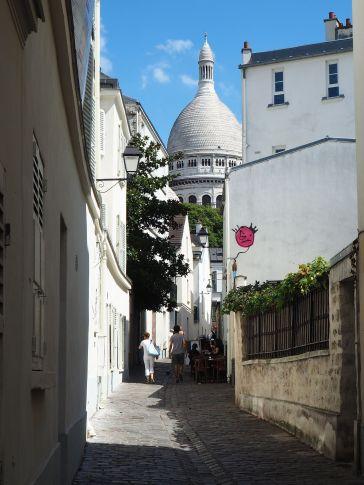 Montmartre narrow street