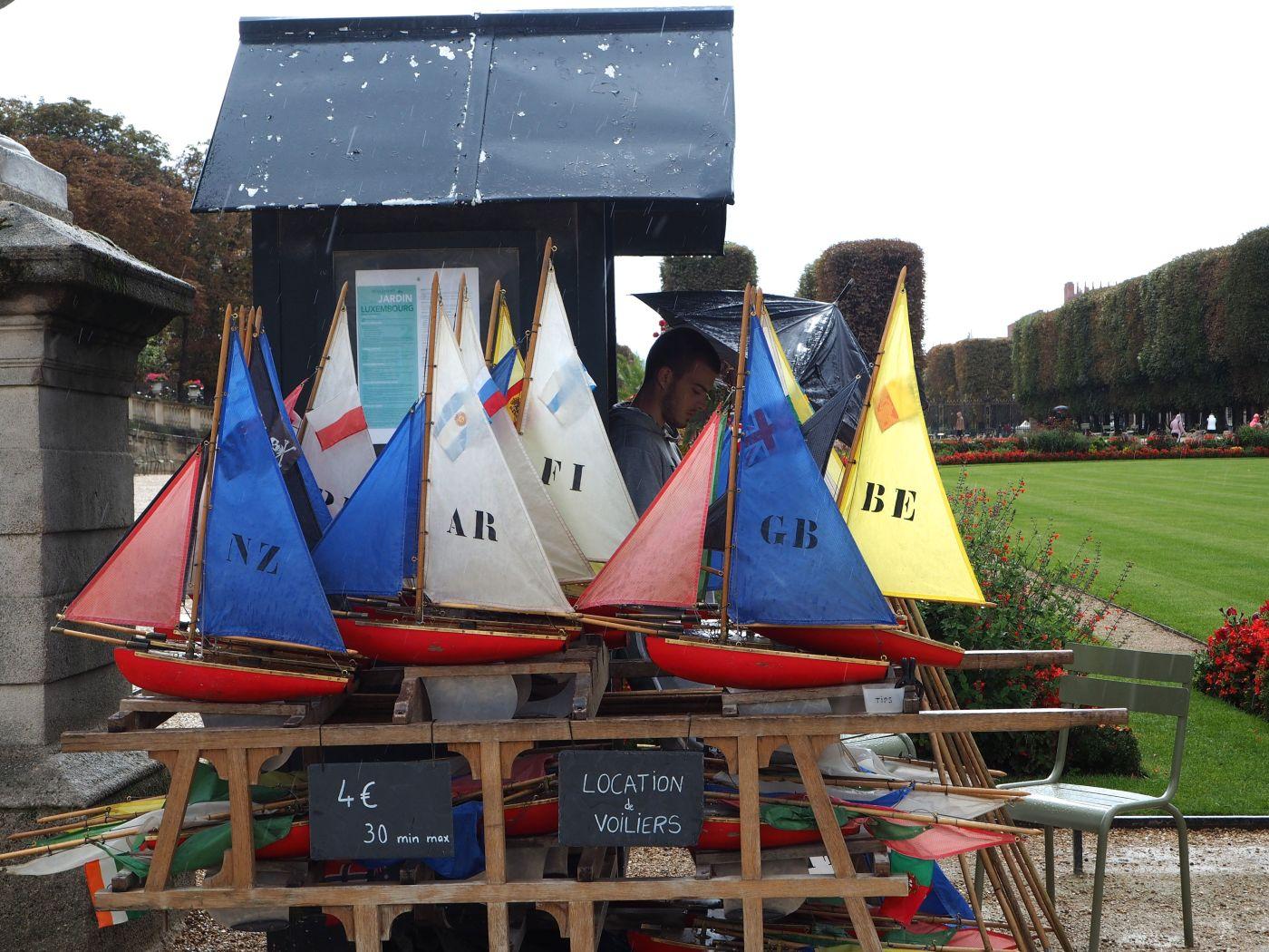 voiliers du jardin de luxembourg