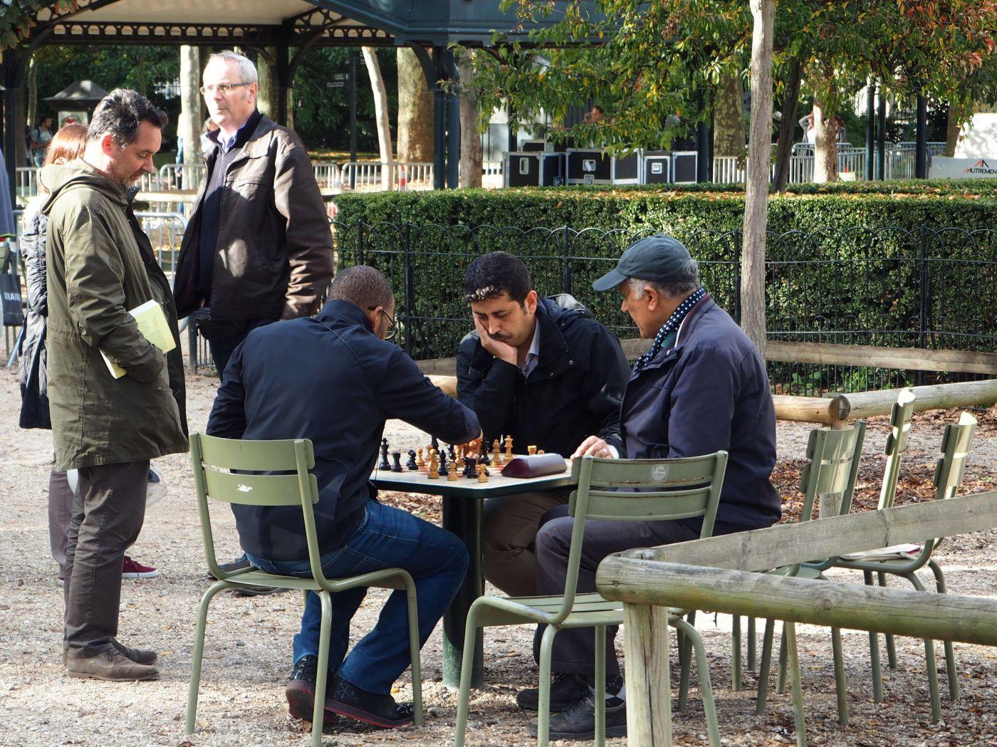 chess jardin du luxembourg