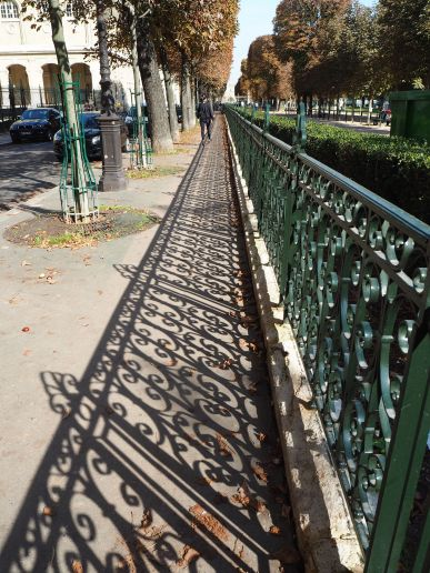 Railings - Jardin des Grands Explorateurs - September 2017