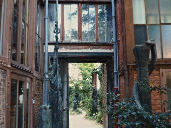 musée bourdelle garden view