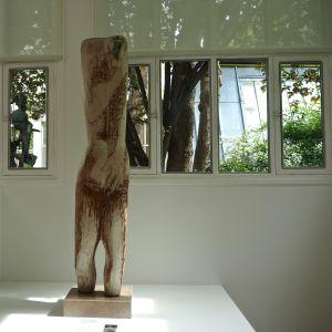 window view sculpture musée zadkine paris