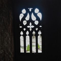 cloister window cathedral