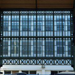 More windows seen through a window at Gare SNCF de Tours - September 2016