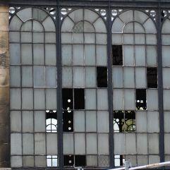 Windows through a window at Gare de l'Austerlitz - October 2016