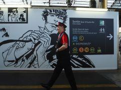 On duty at Gare d'Austerlitz -October 2017