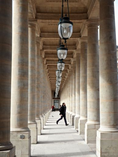 Simple grandeur at the Palais Royal, Paris