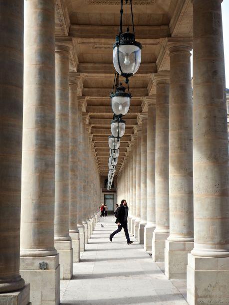 Simple grandeur at the Palais Royal, Paris