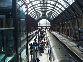 Trains at King's Cross