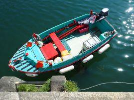 Boat on Belle Île.