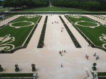 garden of chateau de chambord