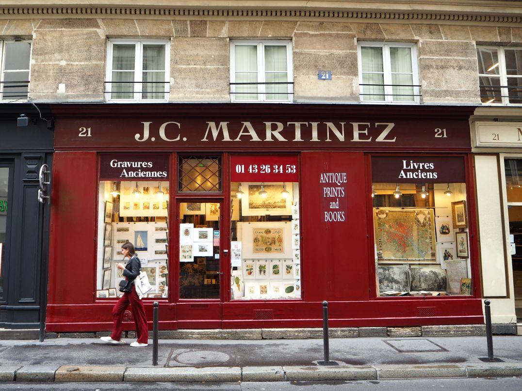 antique book shop paris 6