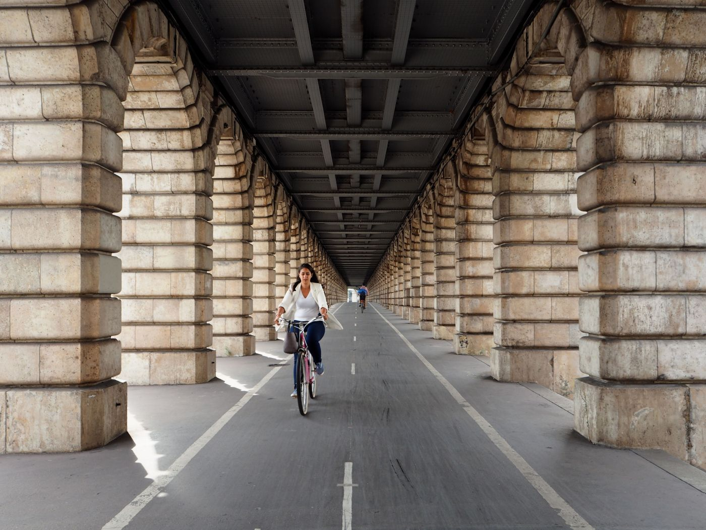 Pont de Bercy Paris bike lanes