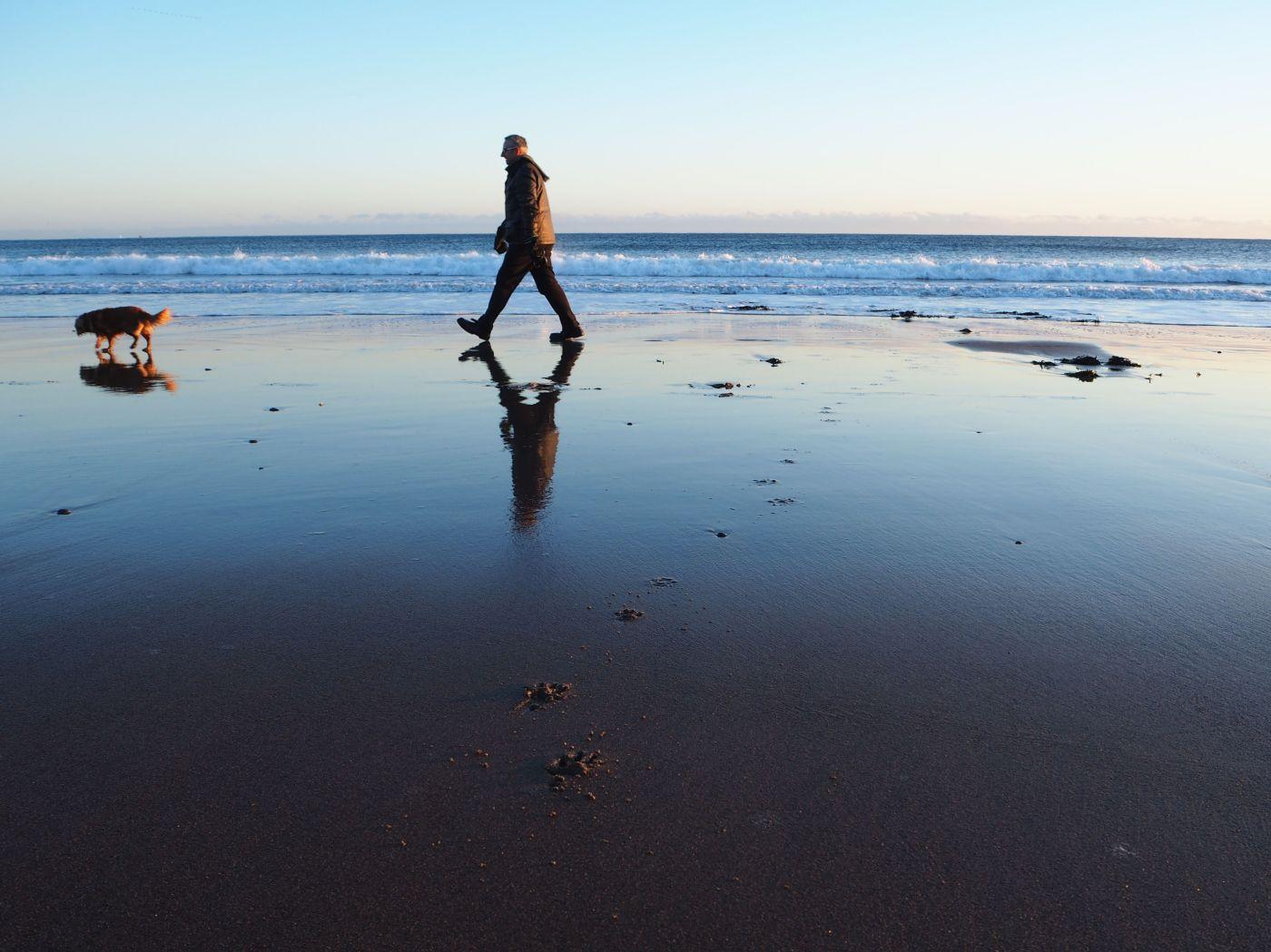 morning walk spittal beach